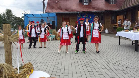 15 sierpnia 2014 r. - Dożynki - Lubinia Mała