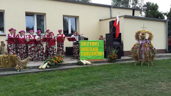 17 sierpnia 2014 r. - Dożynki - Chrzan