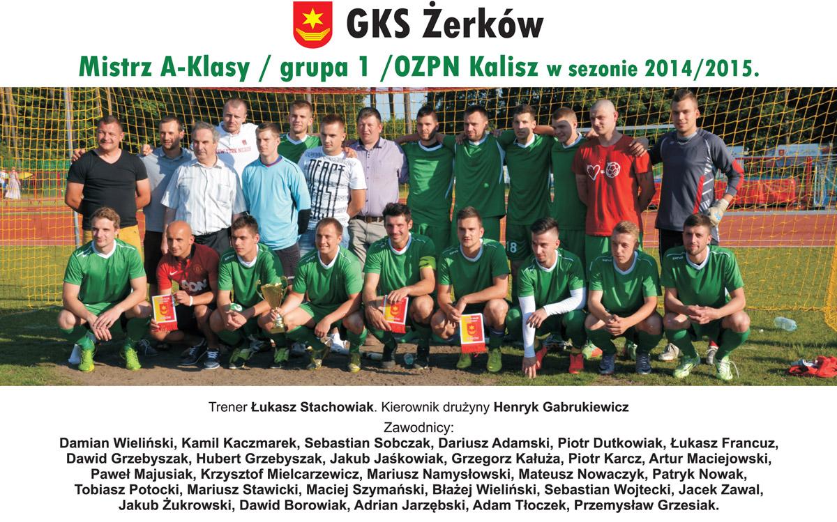 Udane zakończenie sezonu GKS Żerków