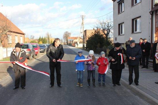 19 listopada 2015 r. - Uroczyste otwarcie dróg gminnych