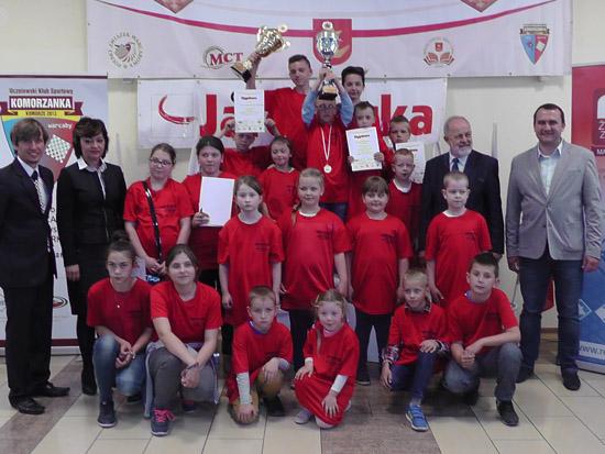 13-15 maja 2016 r. - XIV Mistrzostwa Polski Szkół UKS-ów w warcabach klasycznych