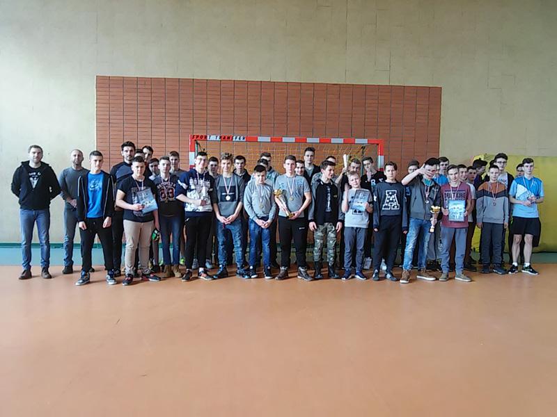 11 lutego 2017 r. - ˝Fair Play Cup˝:  turniej halowej piłki nożnej dla chłopców Gimnazjum.