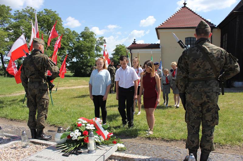 11 czerwca 2017 r. - Uroczystości patriotyczne wLgowie