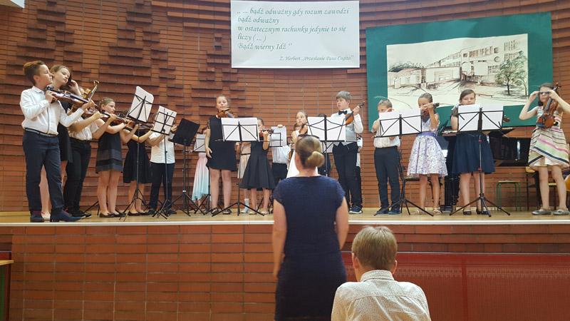 29 lipca 2017 r.- Koncert finałowy Warsztatów Smyczkowych