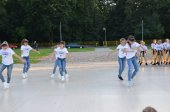 29 lipca 2017 r.- Pokaz taneczno- akrobatyczny uczestników obozu artystycznego Szkoły Ruchu iTańca KONTRAST