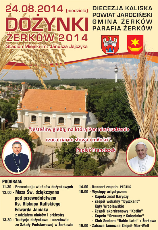 24 sierpnia 2014 r.  - Dożynki Żerków