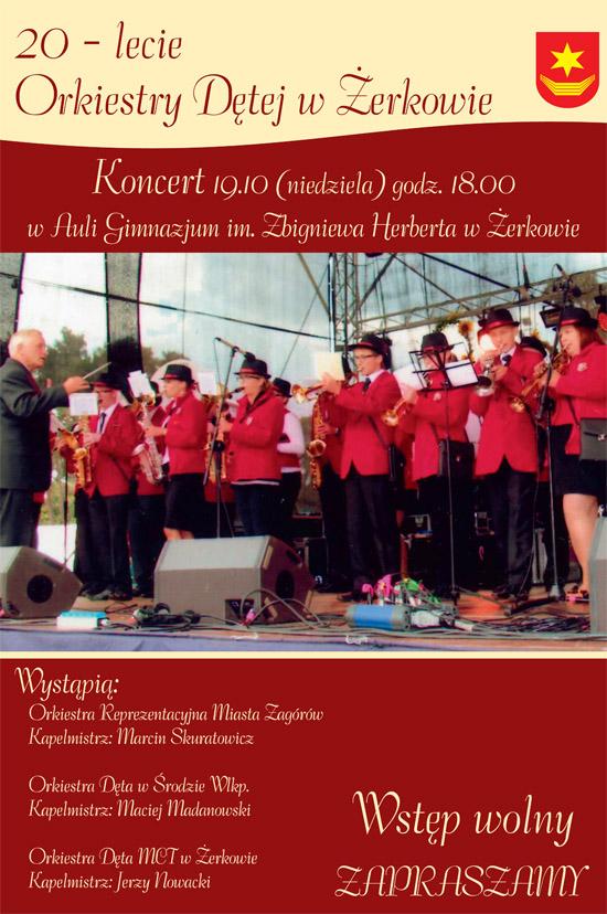 19 października 2014 r. - 20-lecie Orkiestry Dętej wŻerkowie