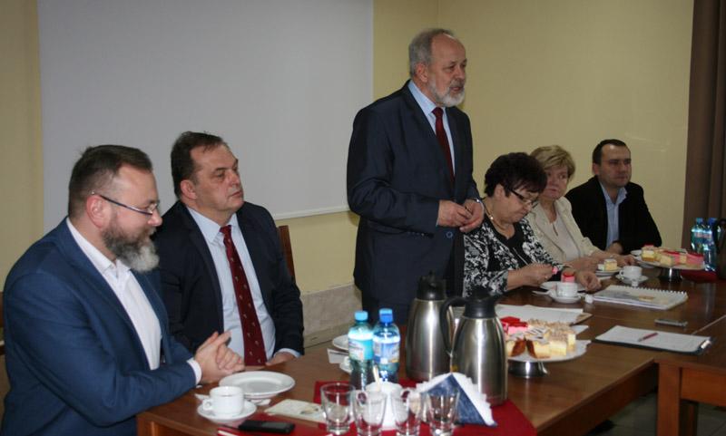 26 stycznia 2016 r .- spotkanie noworoczne Burmistrza zsołtysami.