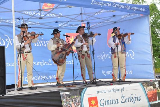 14 maja 2016 r.- Koncert muzyki góralskiej Biołopotocanie z Pienin.