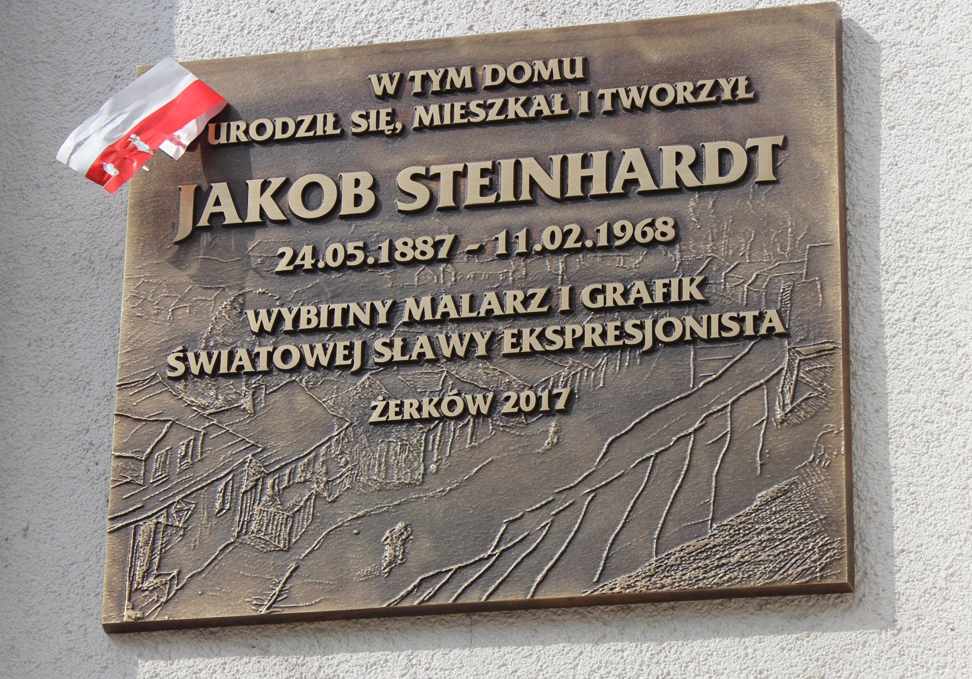 21 maja 2017 r.- Uroczyste obchody 130 rocznicy urodzin Jakoba Steinhardta