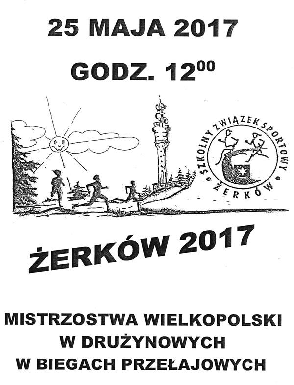 25 maja 2017 r. - Mistrzostwa Wielkopolskich w drużynowych w biegach przełajowych